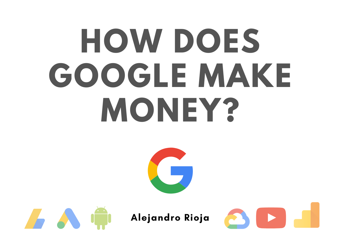 how does google make money