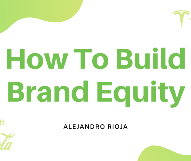 how to build brand equity