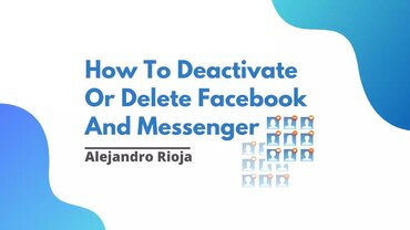 How to delete facebook and messenger