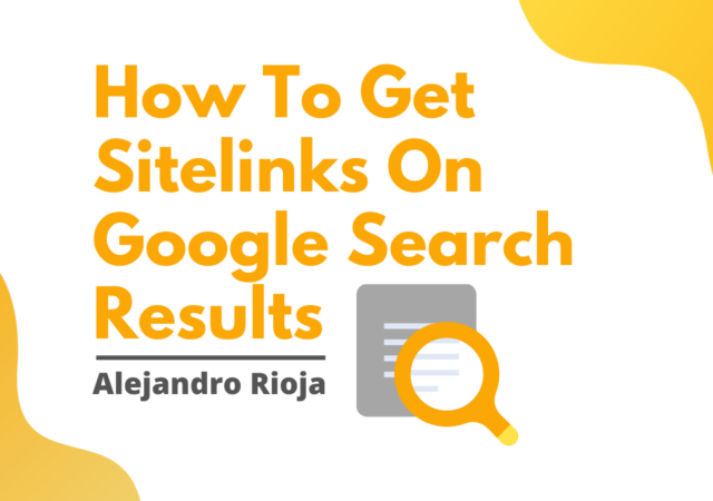how-to-get-sitelinks